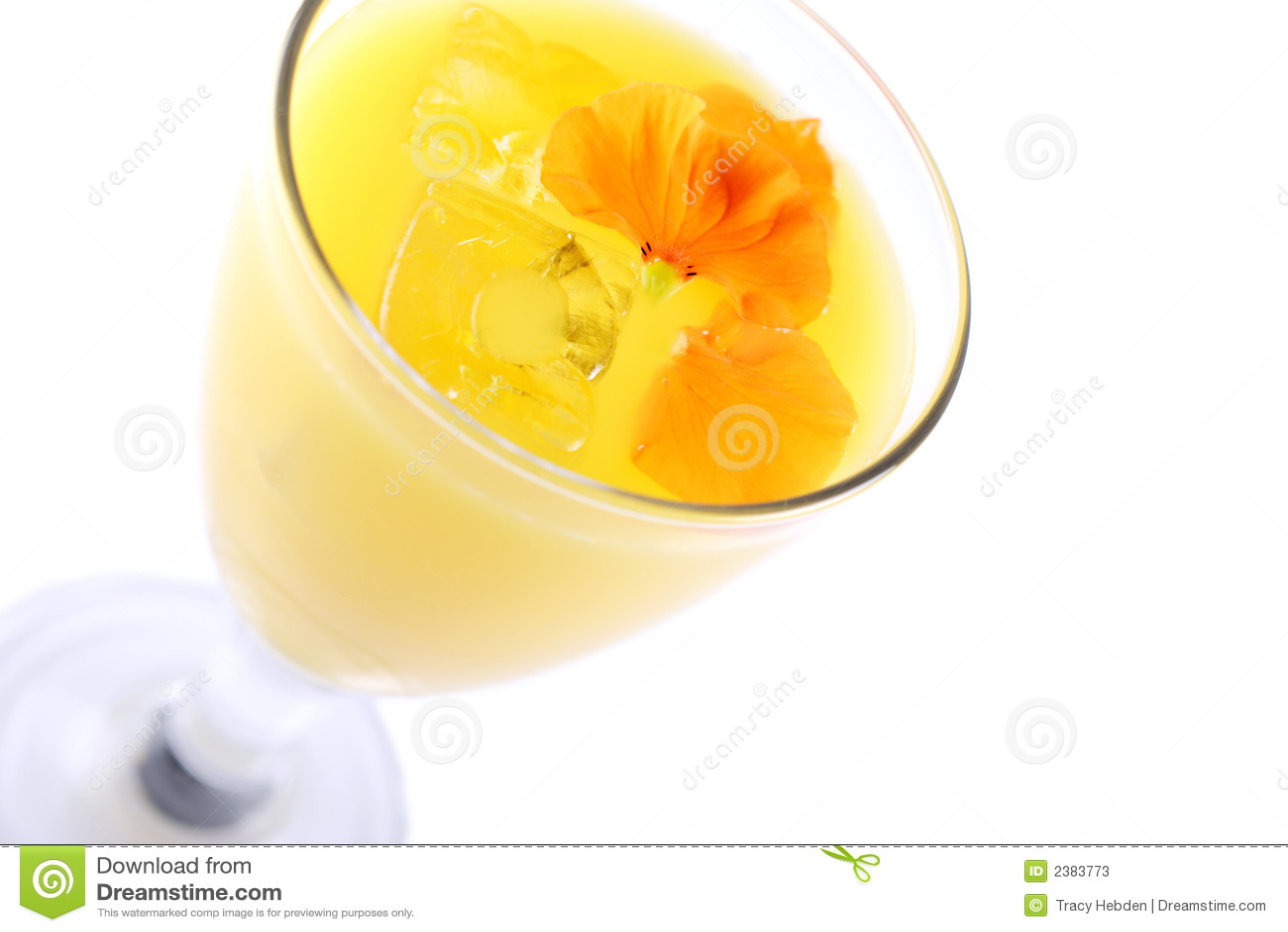 Vers jus d orange