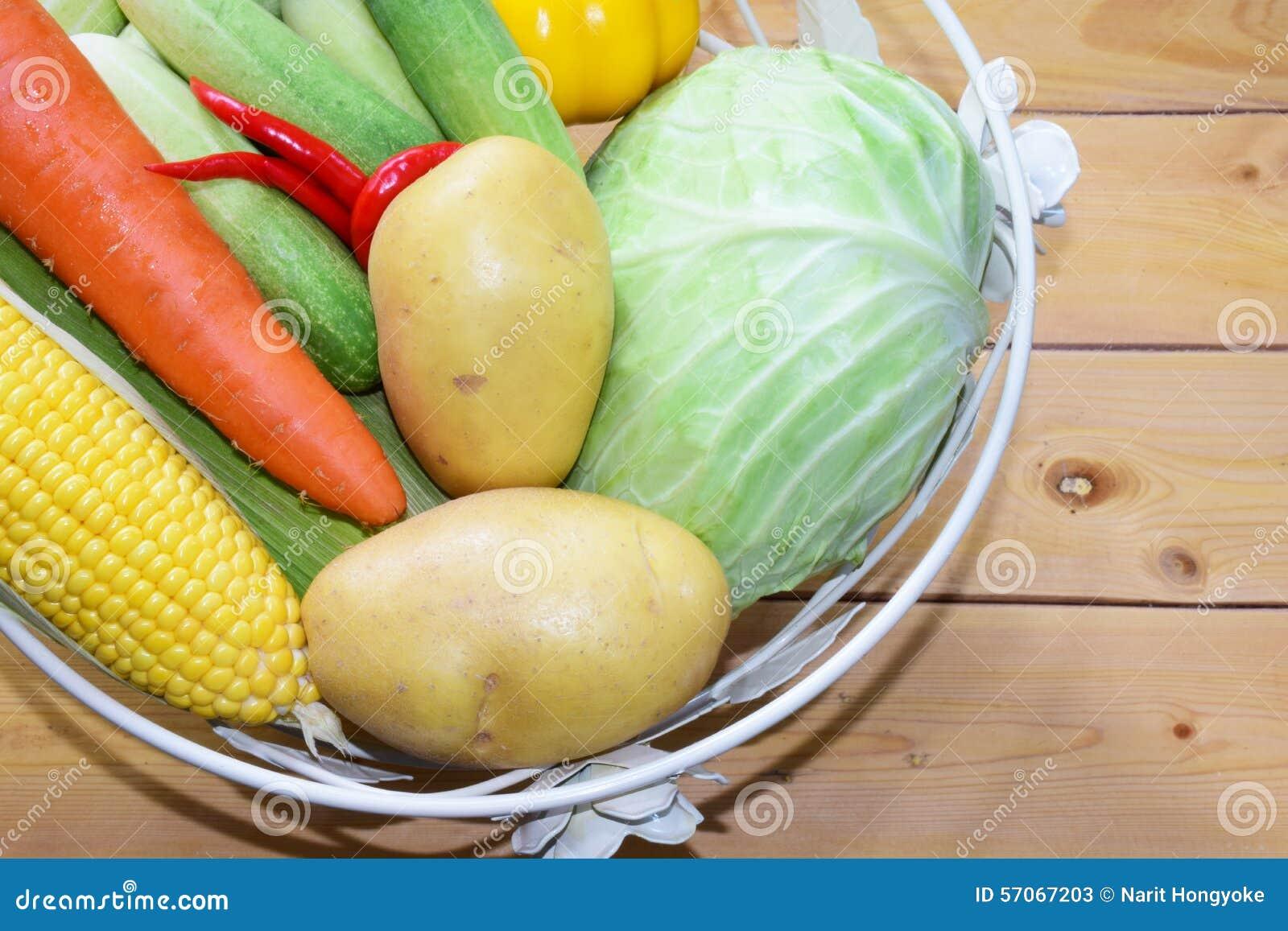 Vers voedsel vegetable