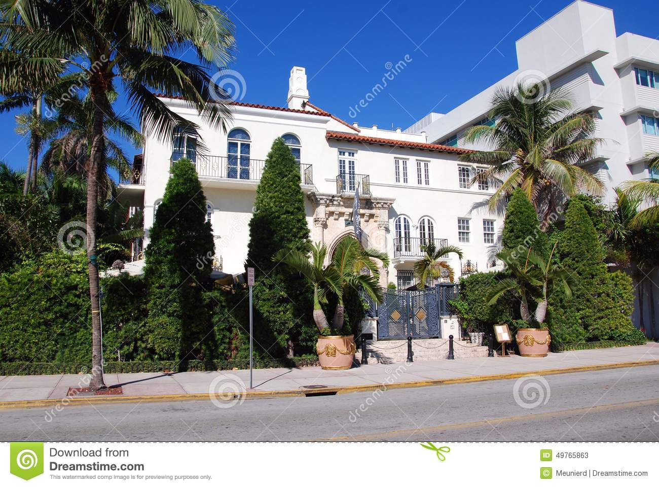 Editorial Stock Photo Versace Mansion Miami Florida Usa October World Gasped As Gianni Was Shot To Death Doorstep His Miami Image49765863 on florida mansion house plans