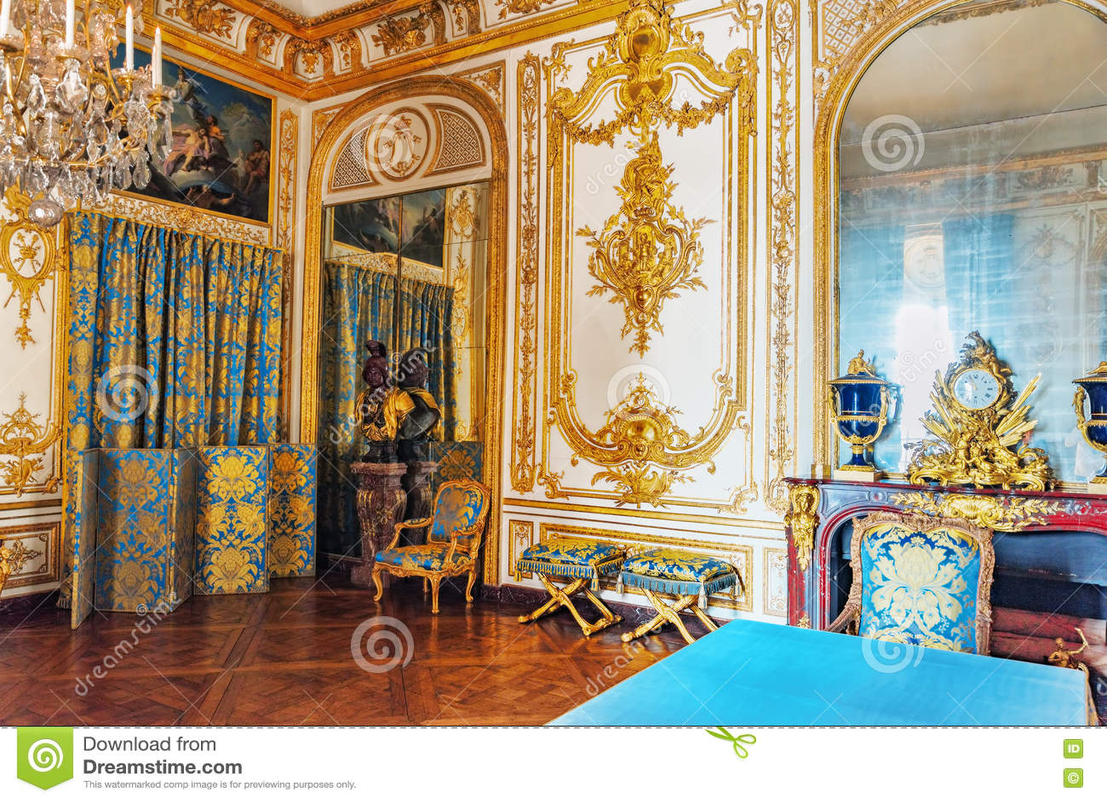 versailles france july 02 2016 council study cabinet du c editorial photo cartoondealer. Black Bedroom Furniture Sets. Home Design Ideas