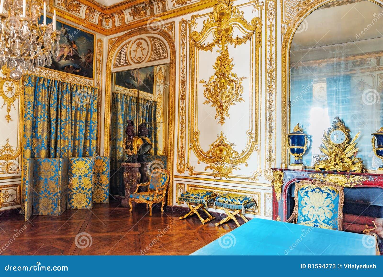 VERSAILLES FRANCJA, LIPIEC, - 02, 2016: Rada nauka (Gabinet Du C
