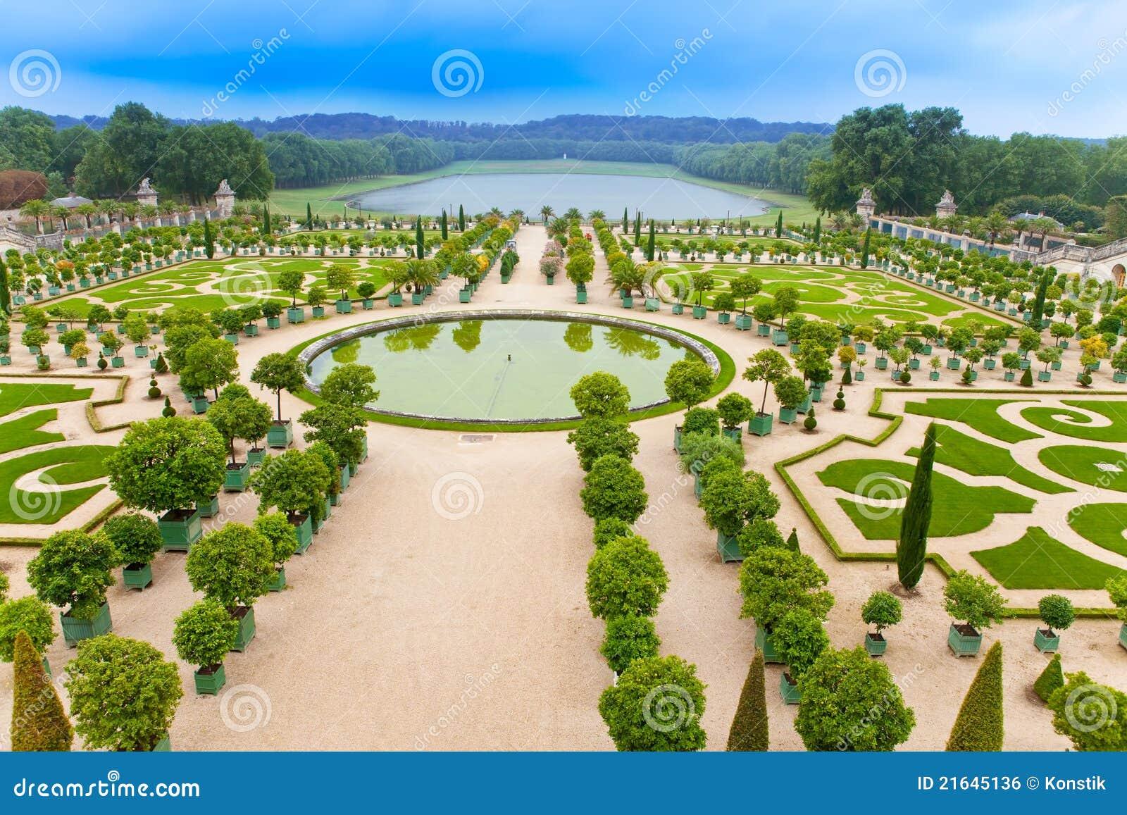 Versailles frankreich park stockfoto bild 21645136 for Parking parc des expositions versailles