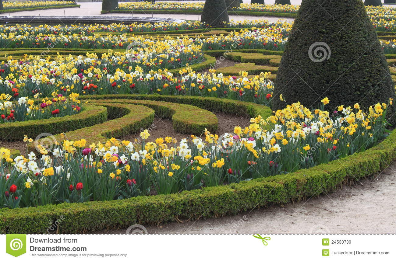 Versailles garden royalty free stock images image 24530739 for Garden design versailles