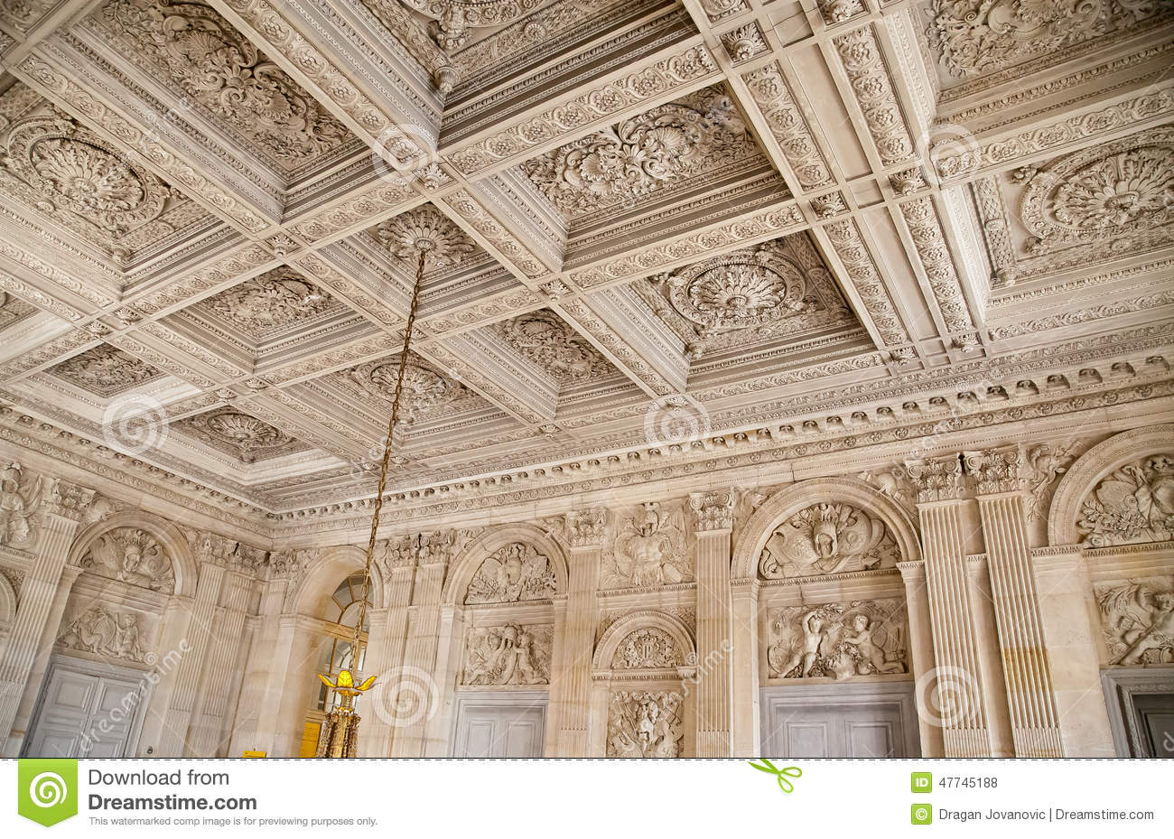 Versailles Place France Editorial Stock Photo Image