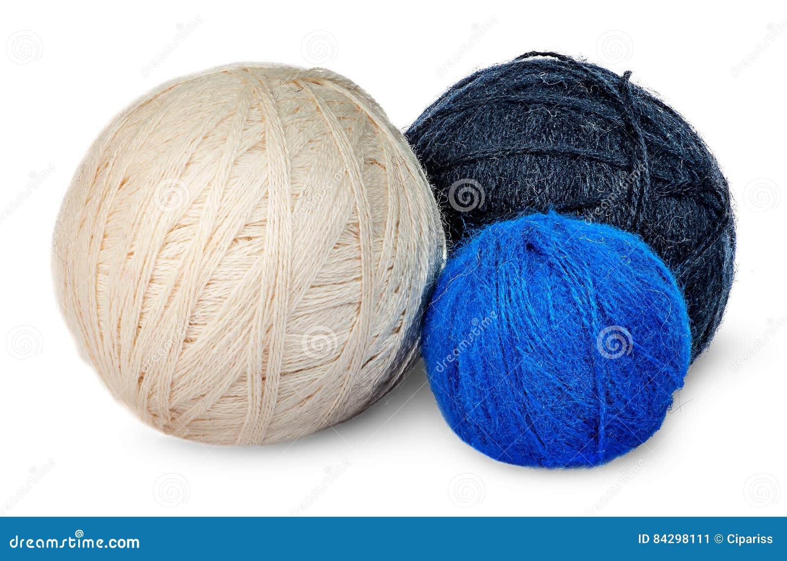 Verscheidene garen van de rollenwol in verschillende kleuren
