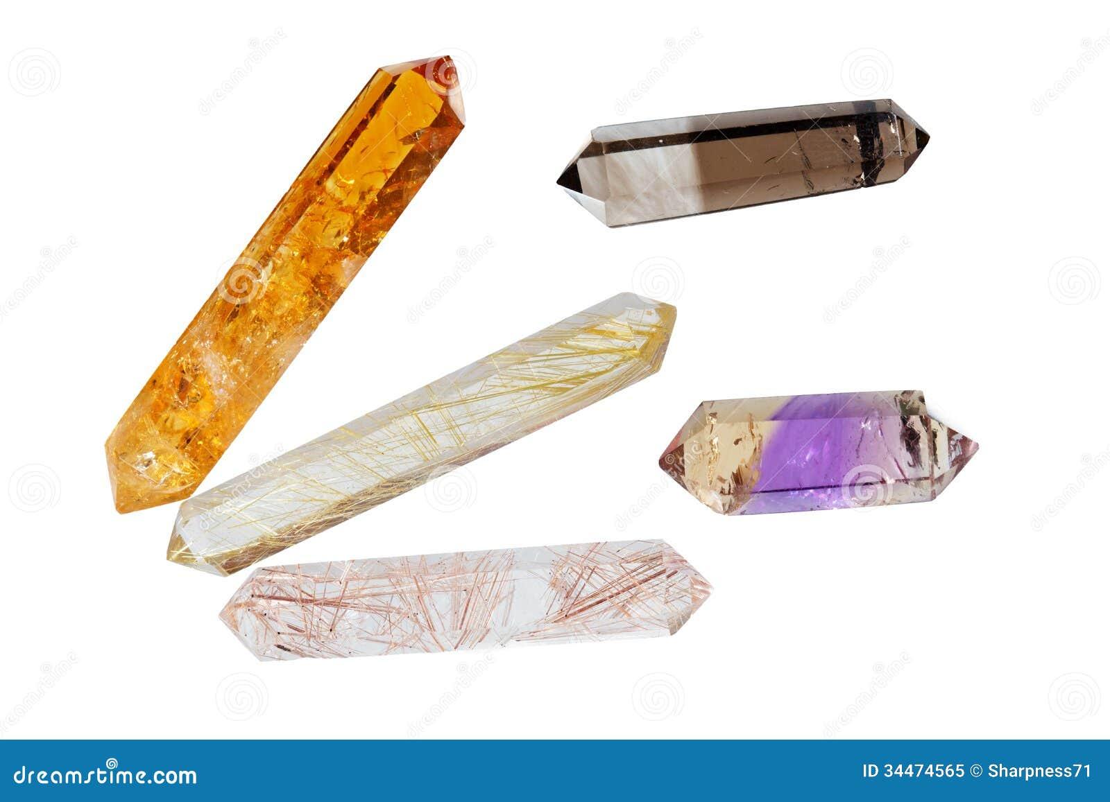 Verscheidene kristallen