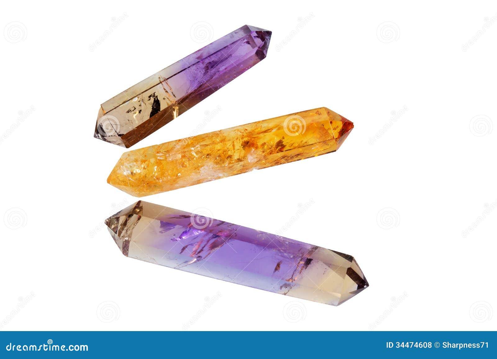Verscheidene kristallen 4
