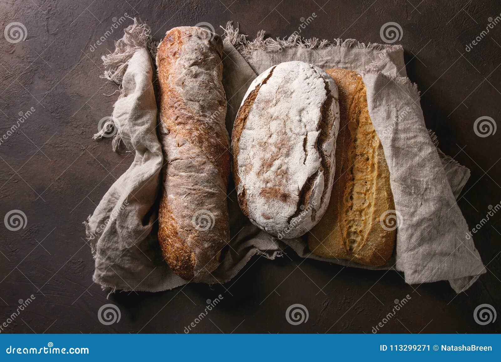 Verscheidenheid van Artisanaal brood