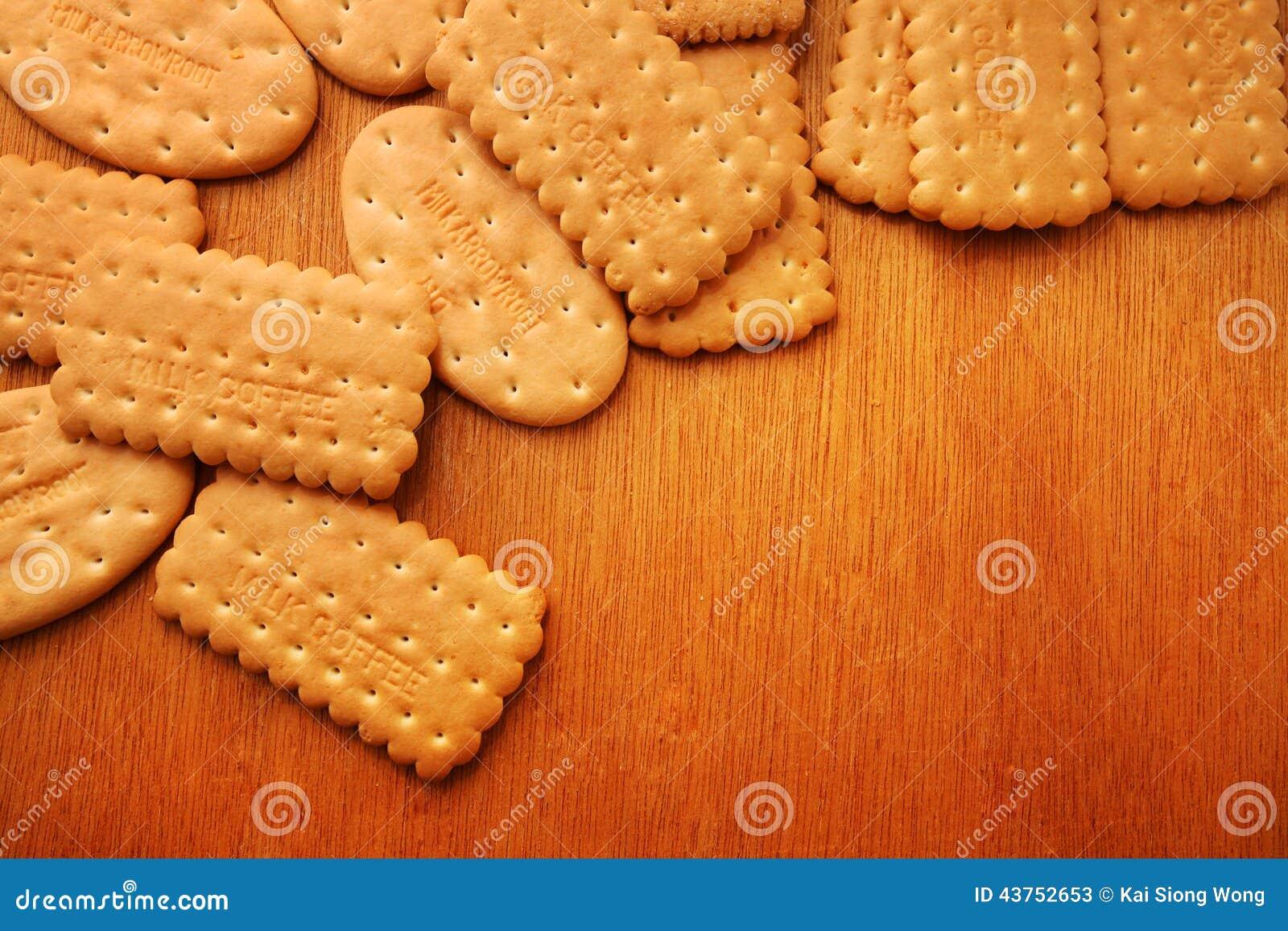Verscheidenheid van Cracker en koekje