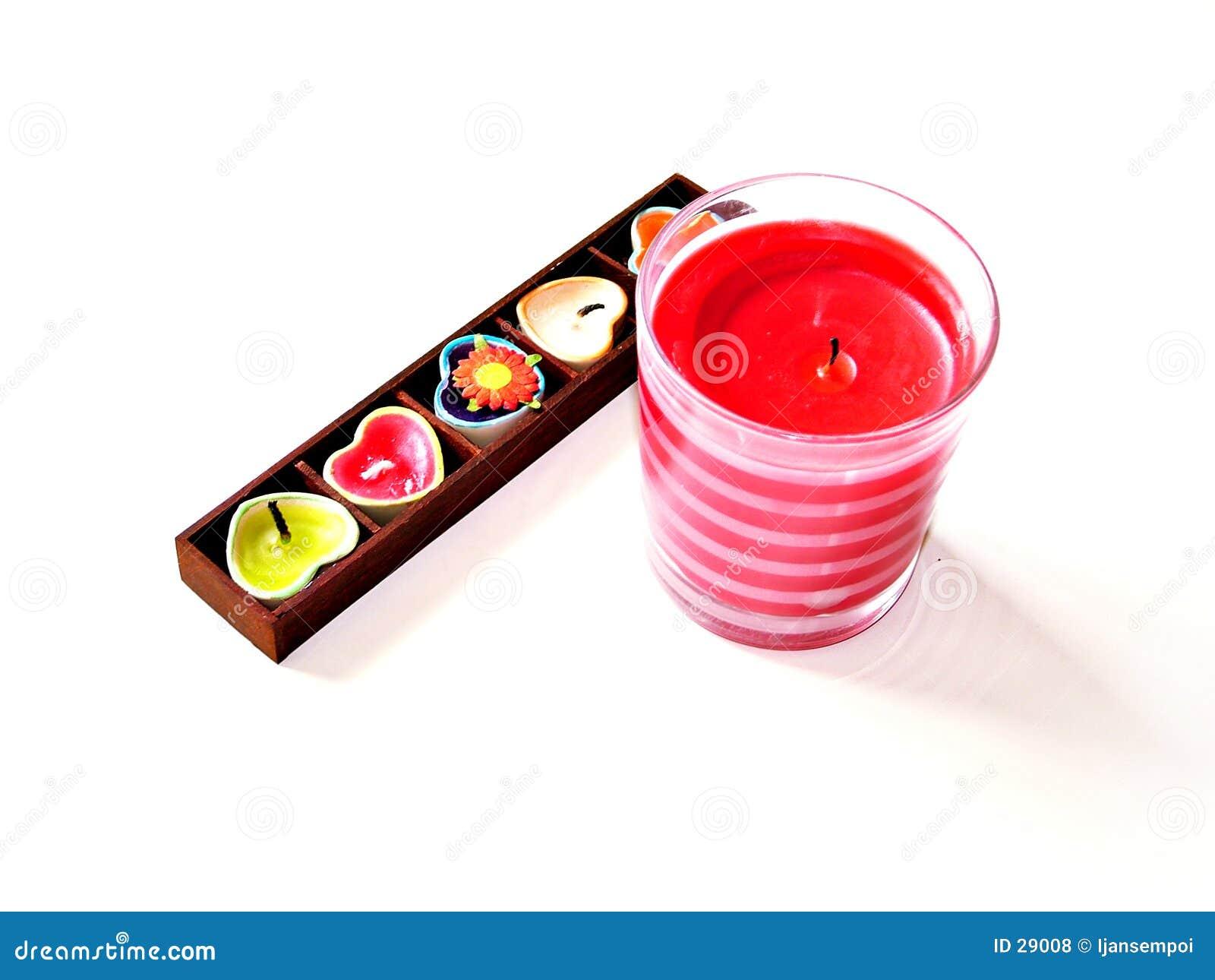 Verscheidenheid van kaarsen
