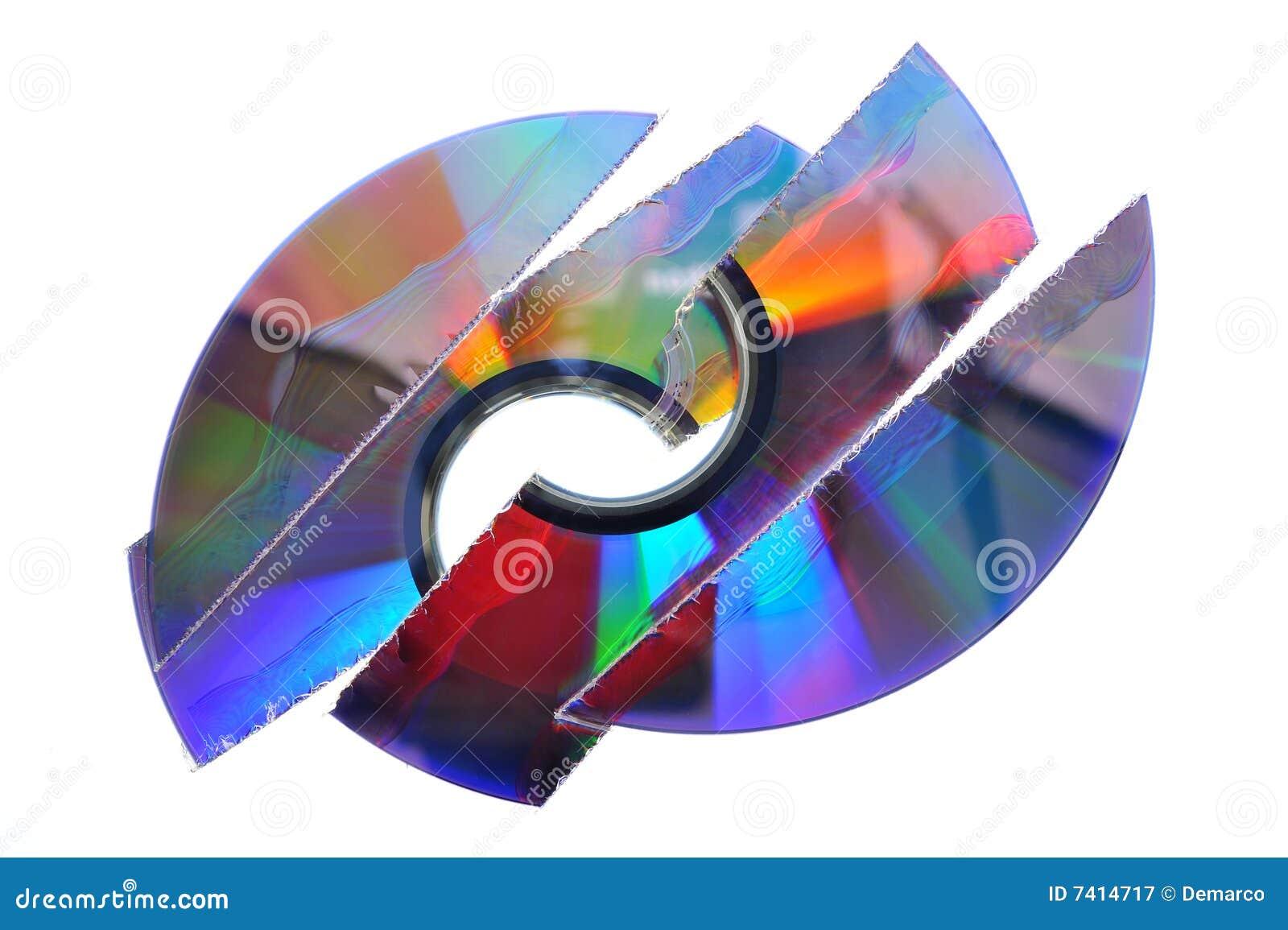 Verscheurde CD