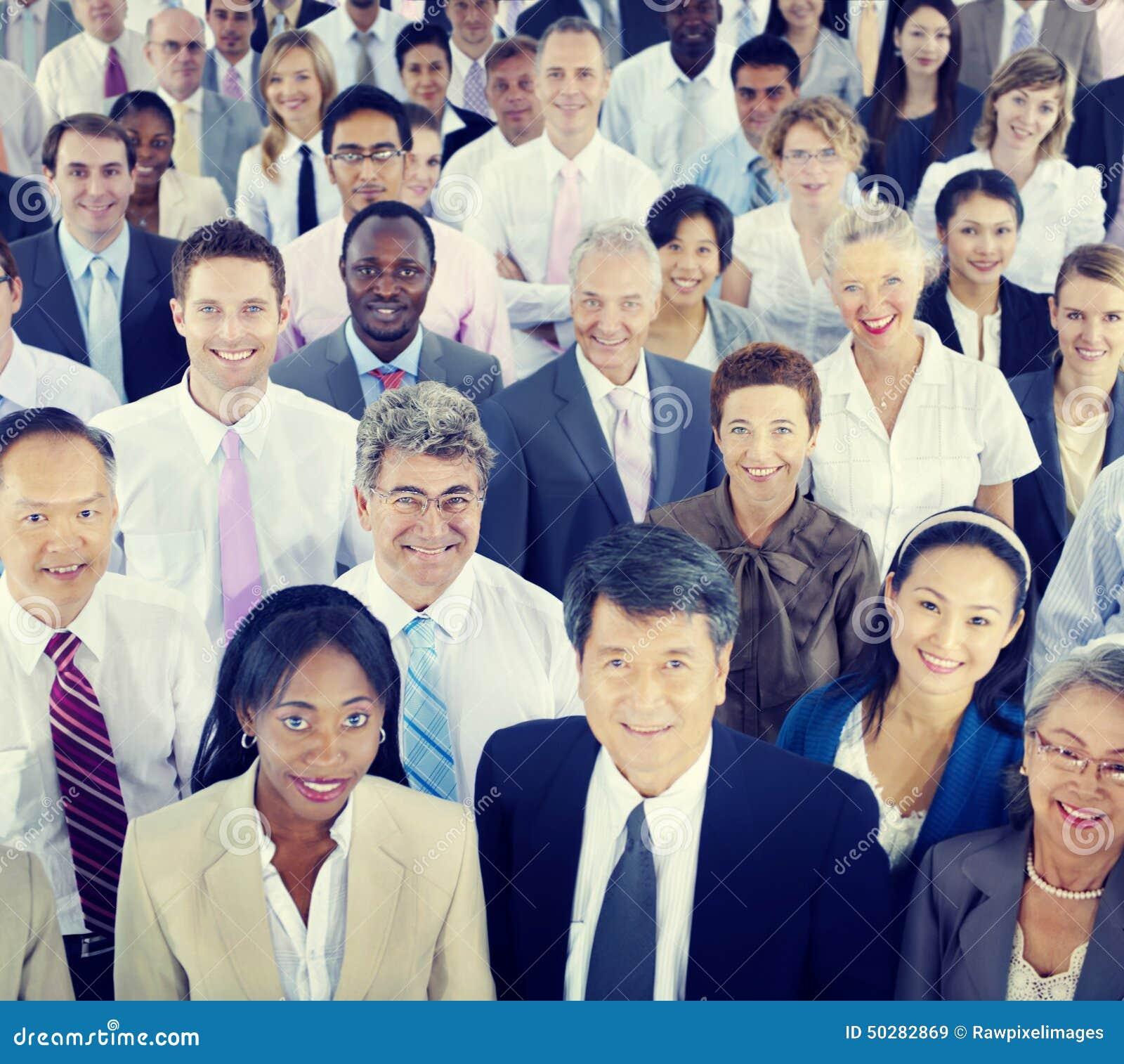Verschiedenartigkeit Geschäftsleute Coorporate Team Community Concept