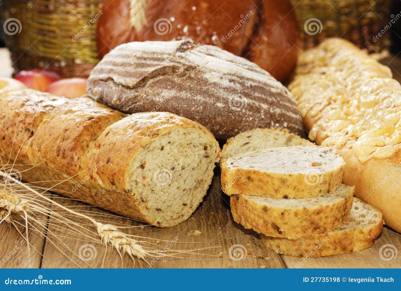 Verschiedene Arten des Brotes
