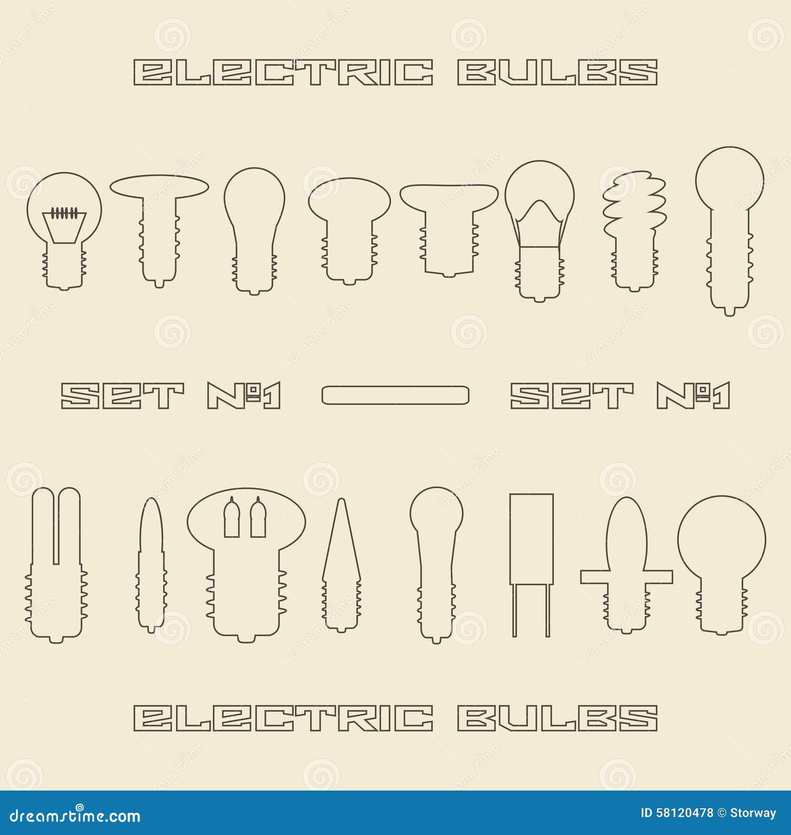 Ungewöhnlich Verschiedene Arten Von Elektrischen Symbolen Ideen ...