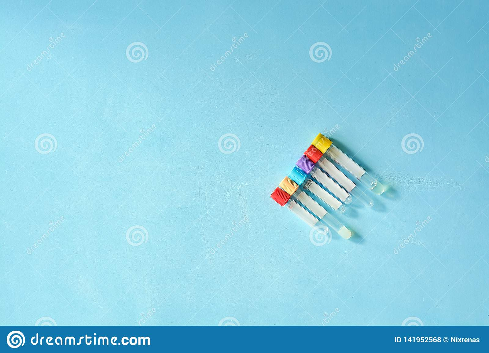 Verschiedene Farb- und der Größeleere Vakuum-venipuncture Reagenzgläser