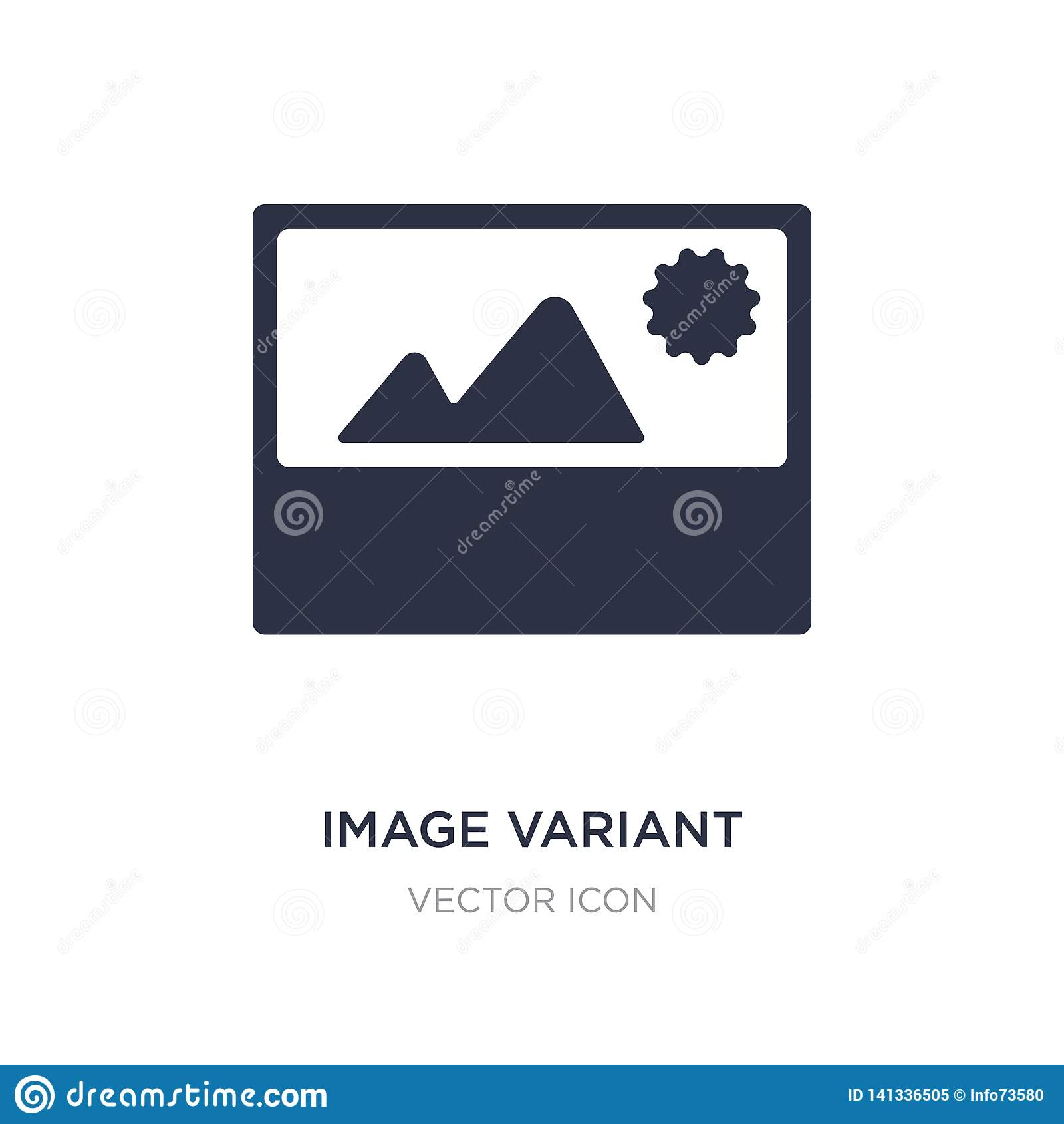 Verschiedene Ikone des Bildes auf weißem Hintergrund Einfache Elementillustration von UI-Konzept