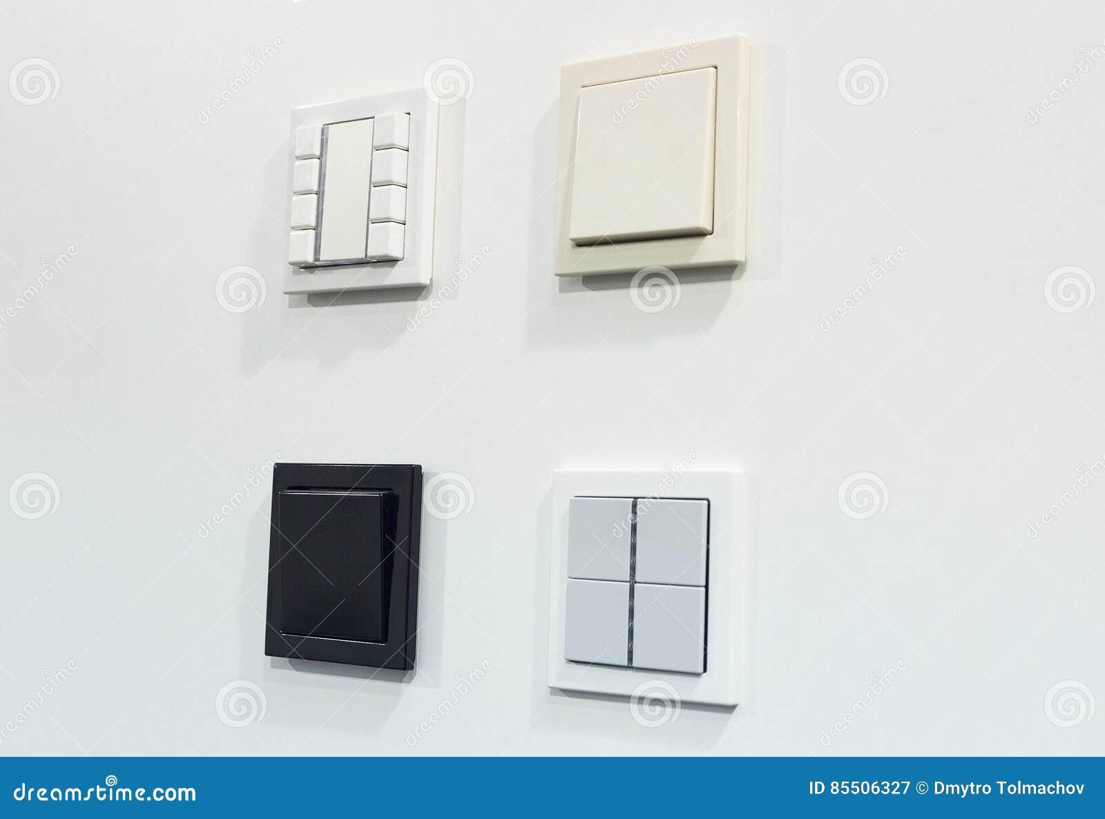 Tolle Verschiedene Arten Von Lichtschaltern Fotos - Elektrische ...