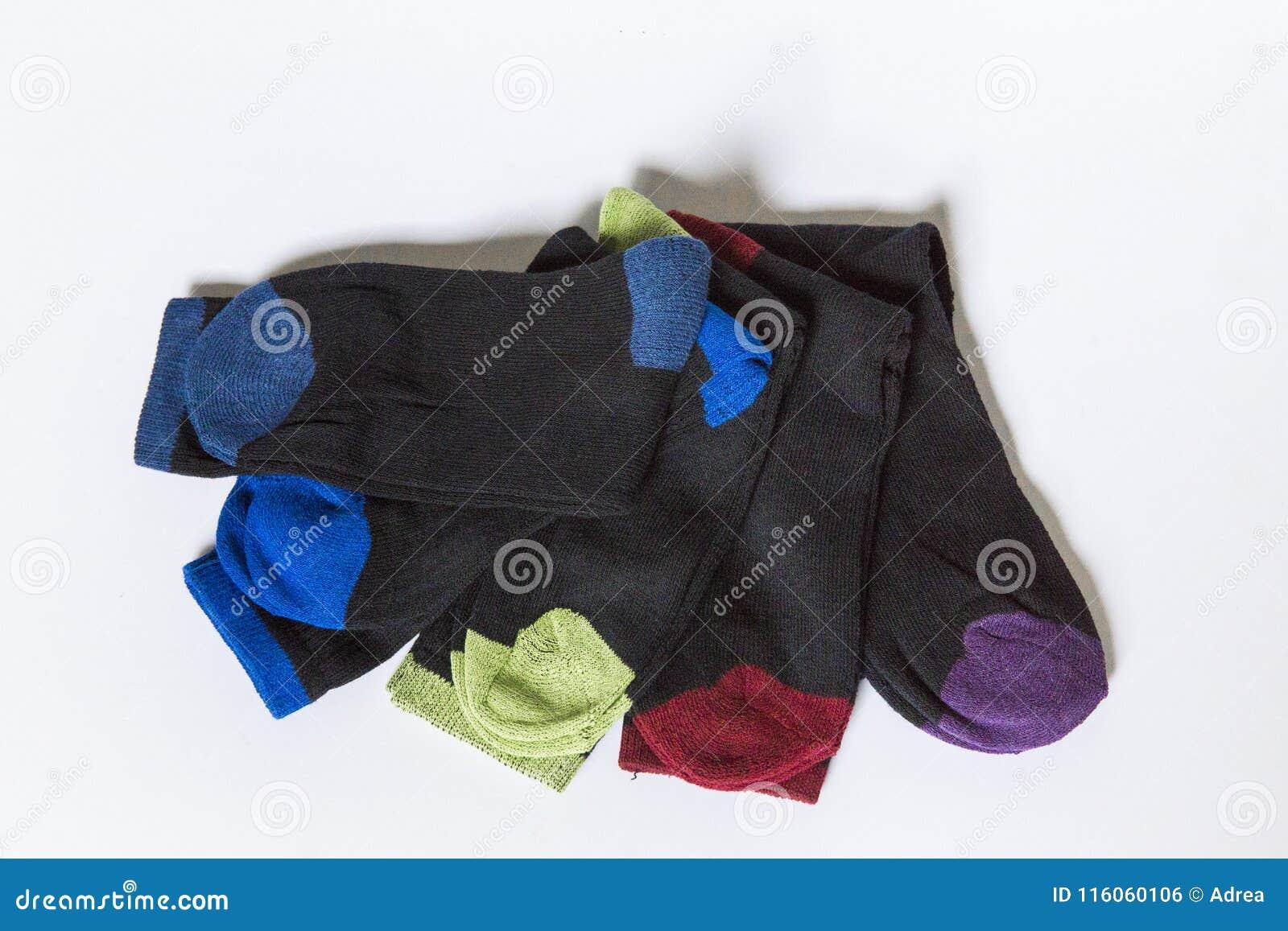 Verschillend kleurenpaar sokken