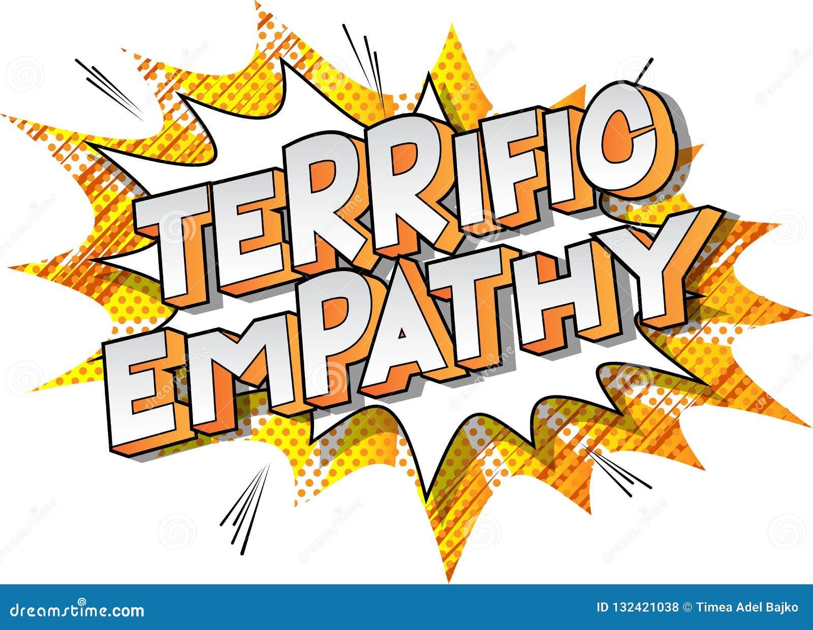 Verschrikkelijk Empathie - de Grappige woorden van de boekstijl