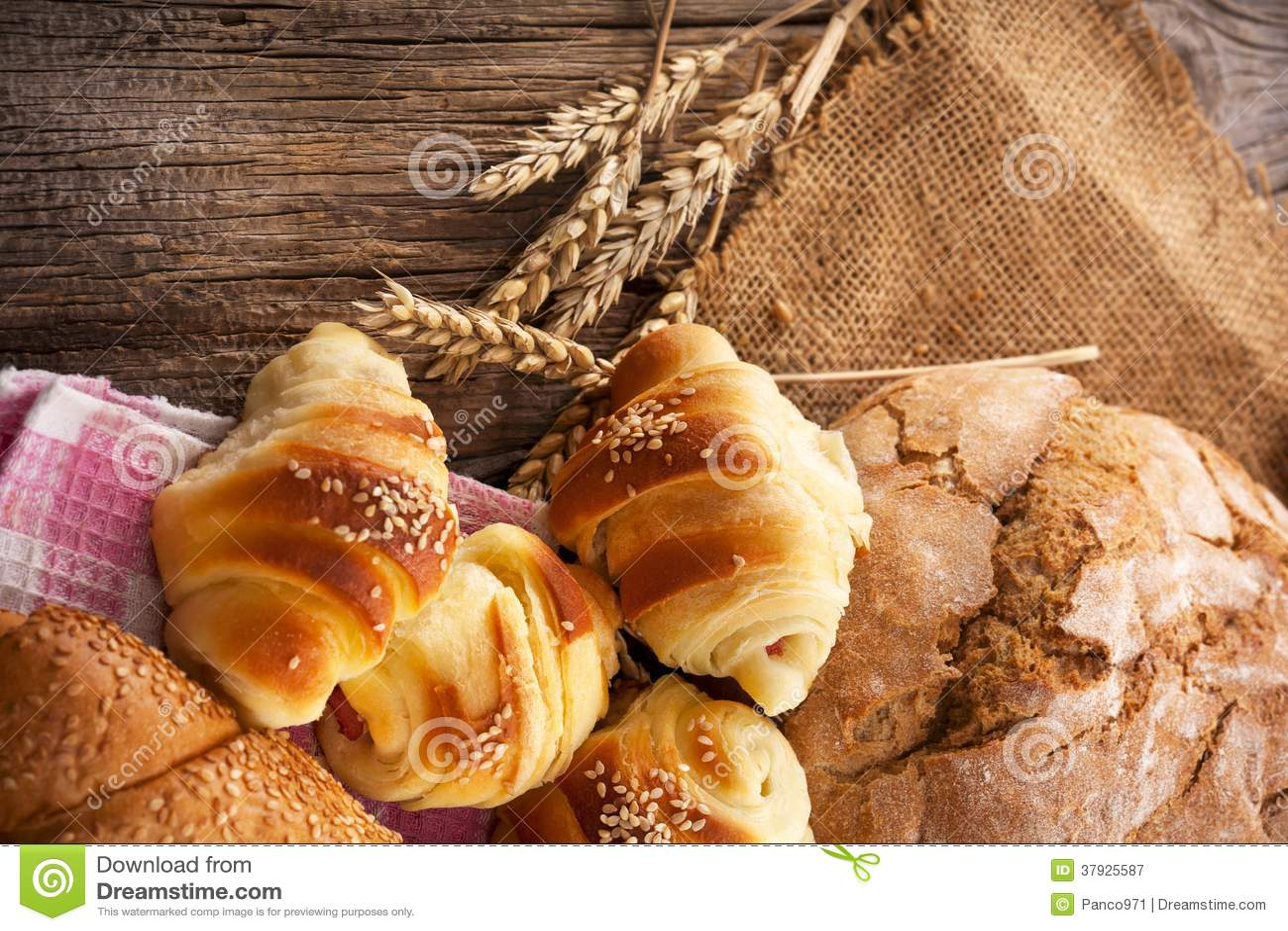Verse bakkerijproducten