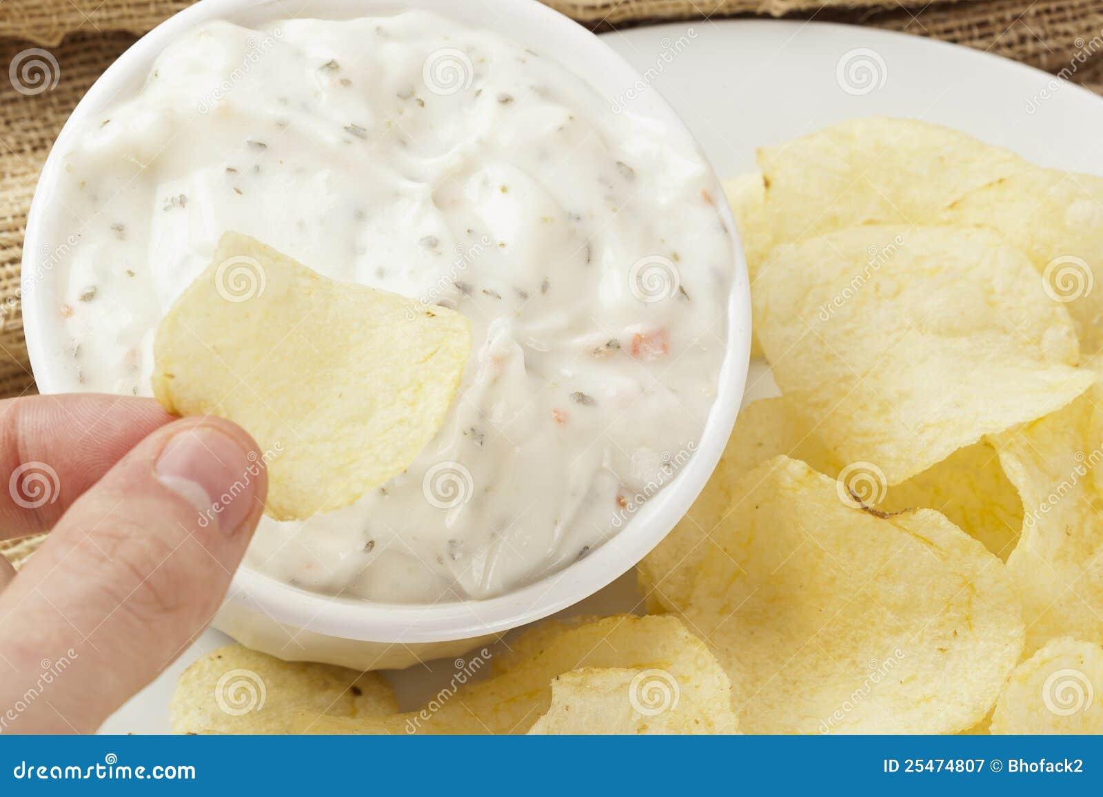 Verse Chips met de Onderdompeling van de Boerderij