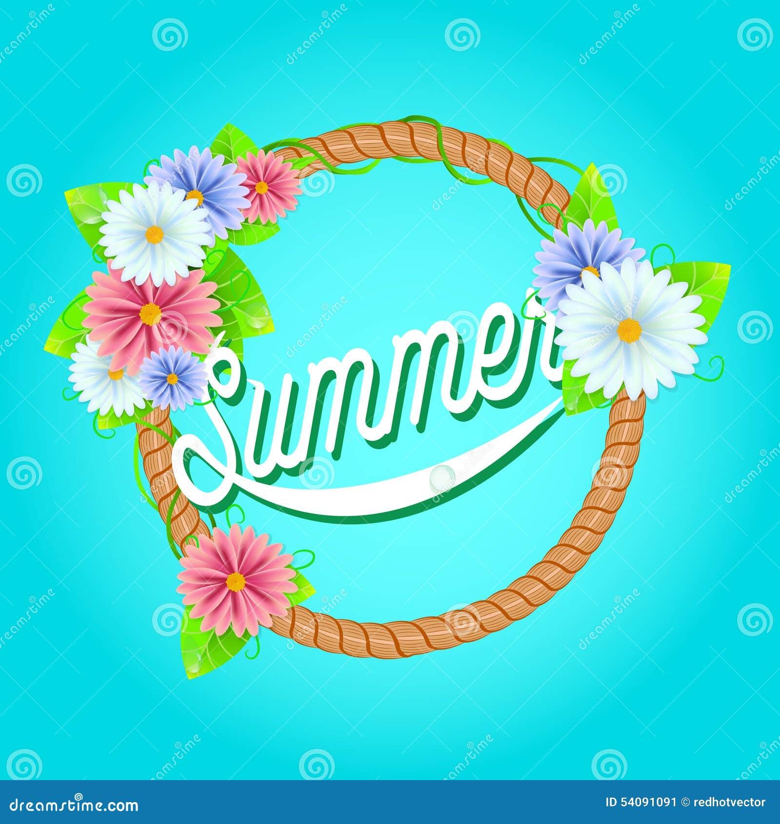Verse de zomerachtergrond