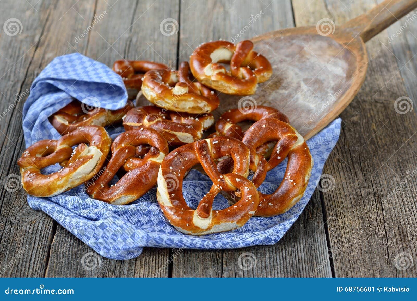 Verse Duitse pretzels