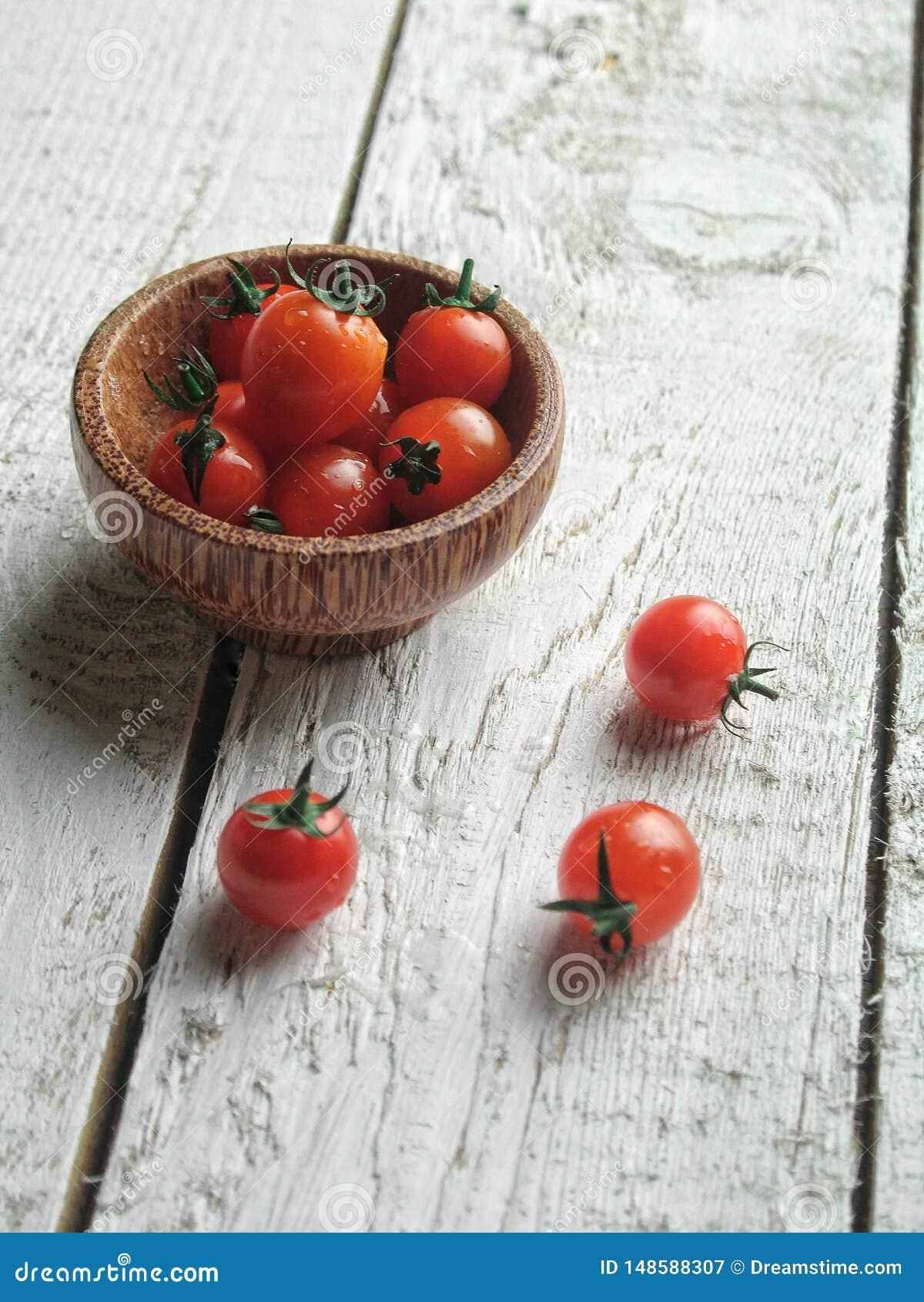 Verse en gezonde tomaten