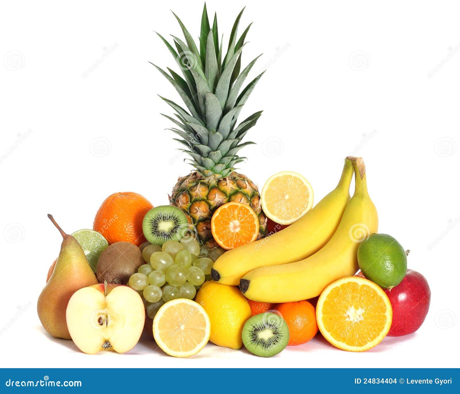 Verse geïsoleerdep gemengd vruchten