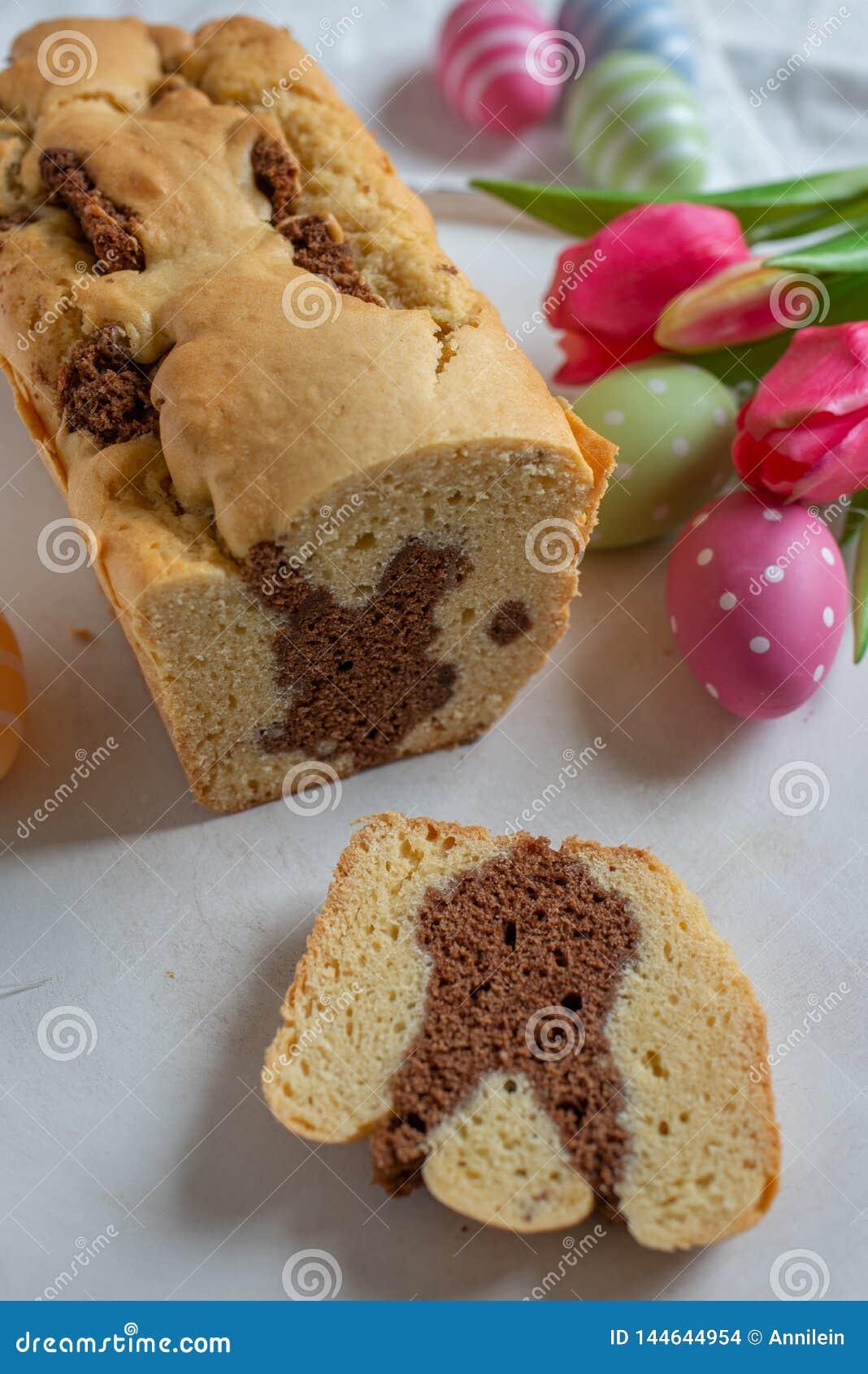 Verse gebakken Pasen Bunny Cake