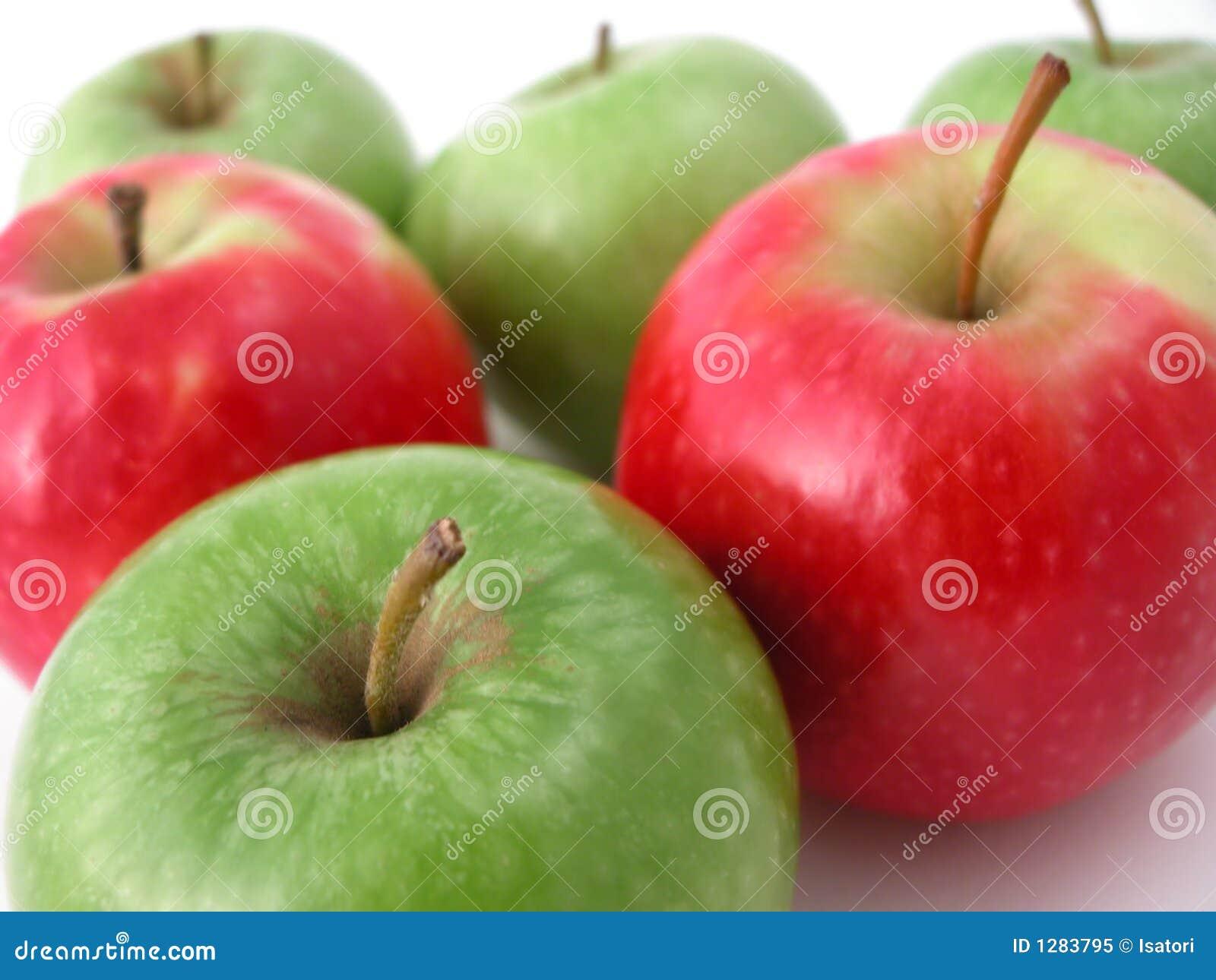 Verse knapperige appelen