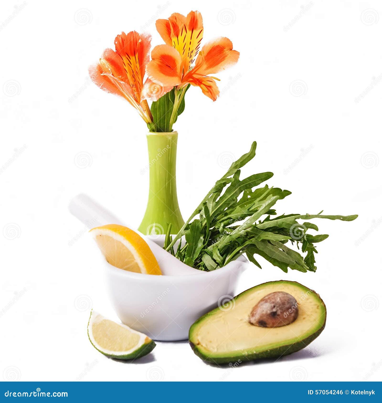 Verse rijpe avocado