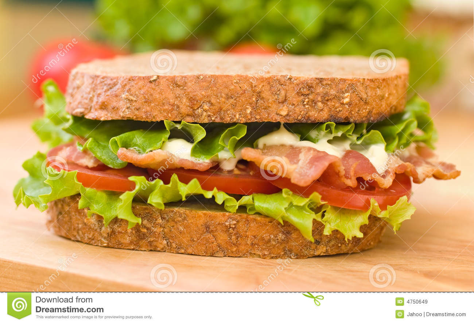 Verse Sandwich BLT