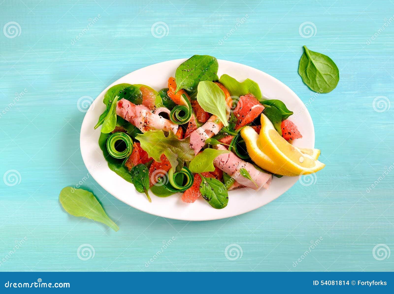 Verse sappige salade