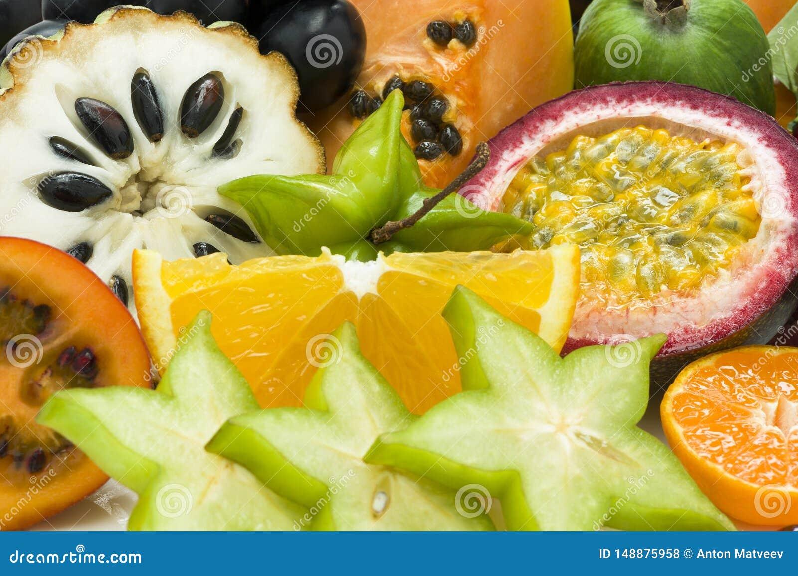 Verse tropische vruchten
