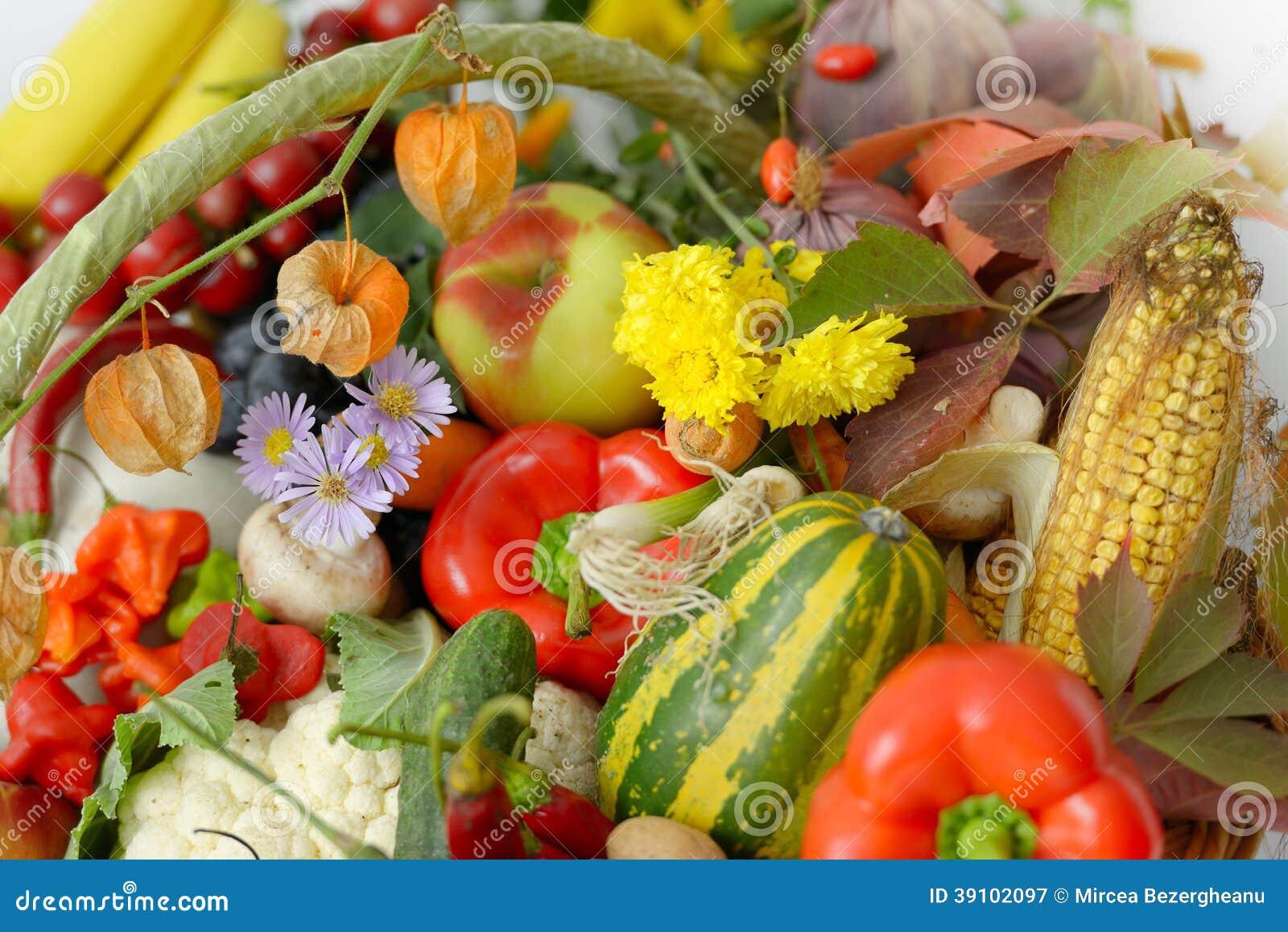 Verse vruchten en groenten