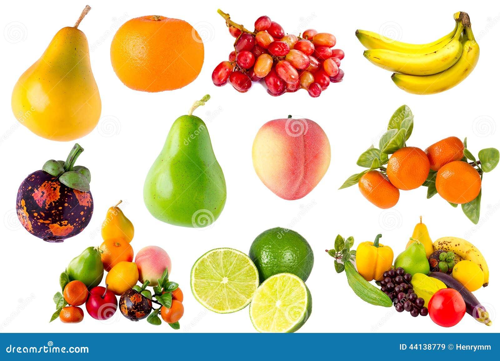 Verse vruchten groenteninzameling