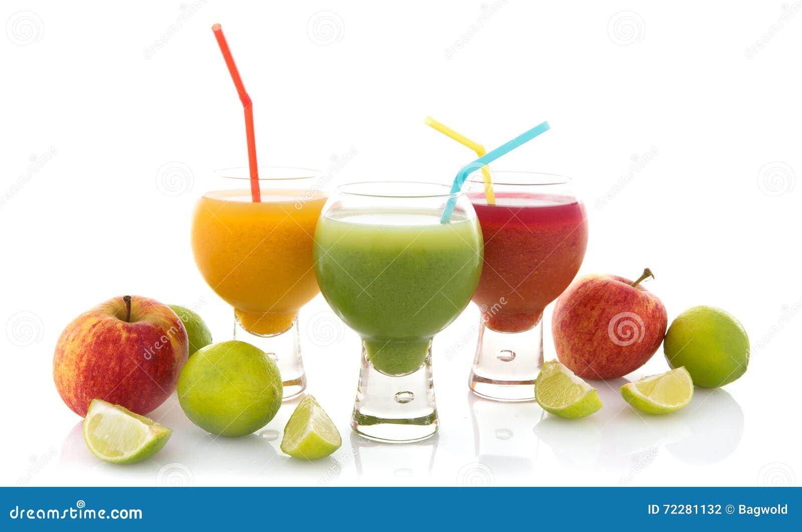 Verse vruchtesappen