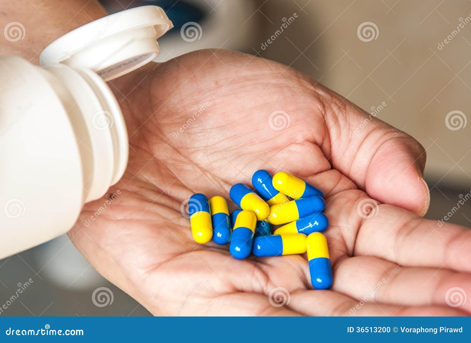 Versement de pilules