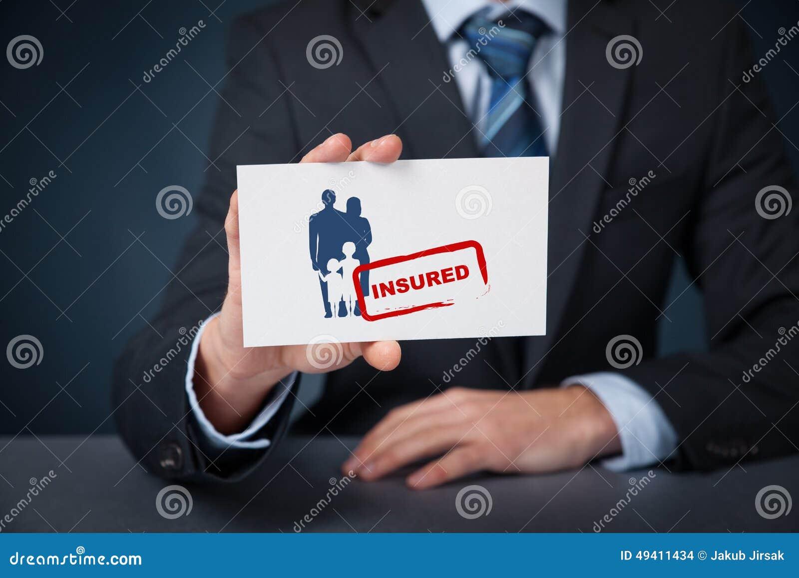 Download Versichertfamilie stockfoto. Bild von karte, muttergesellschaft - 49411434