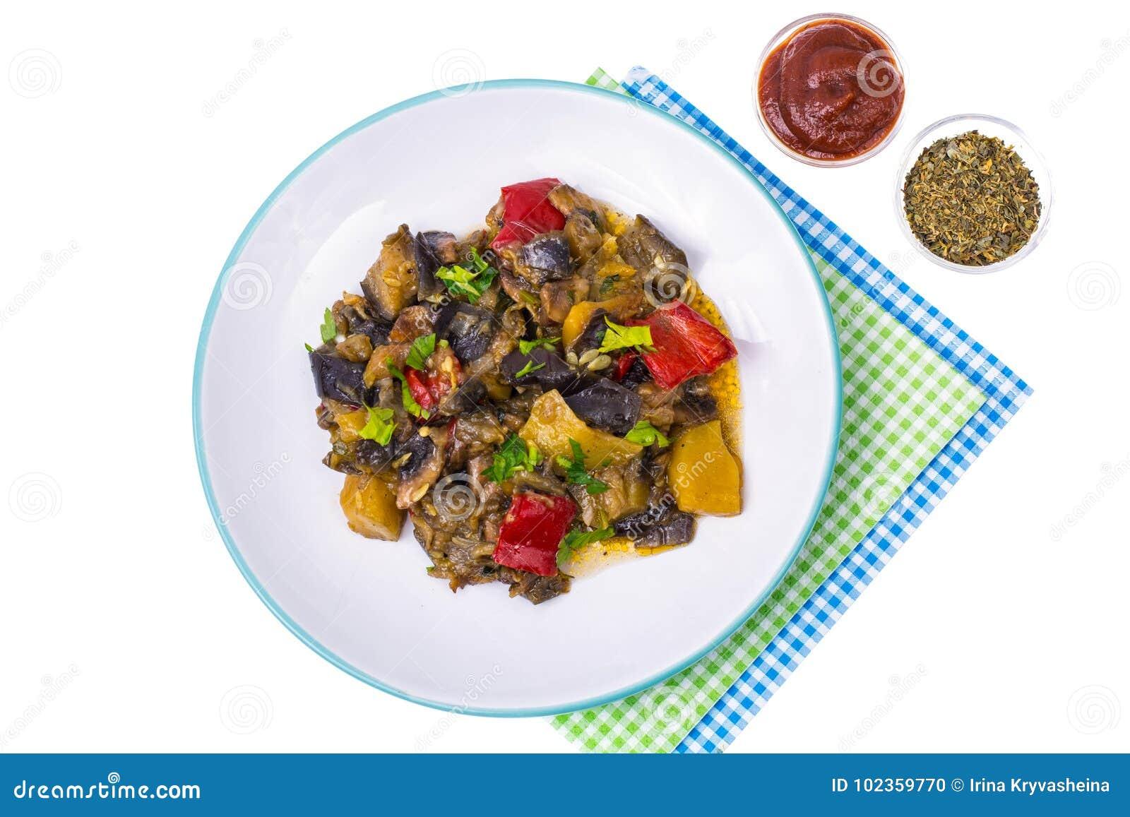 Versier van verschillende groenten