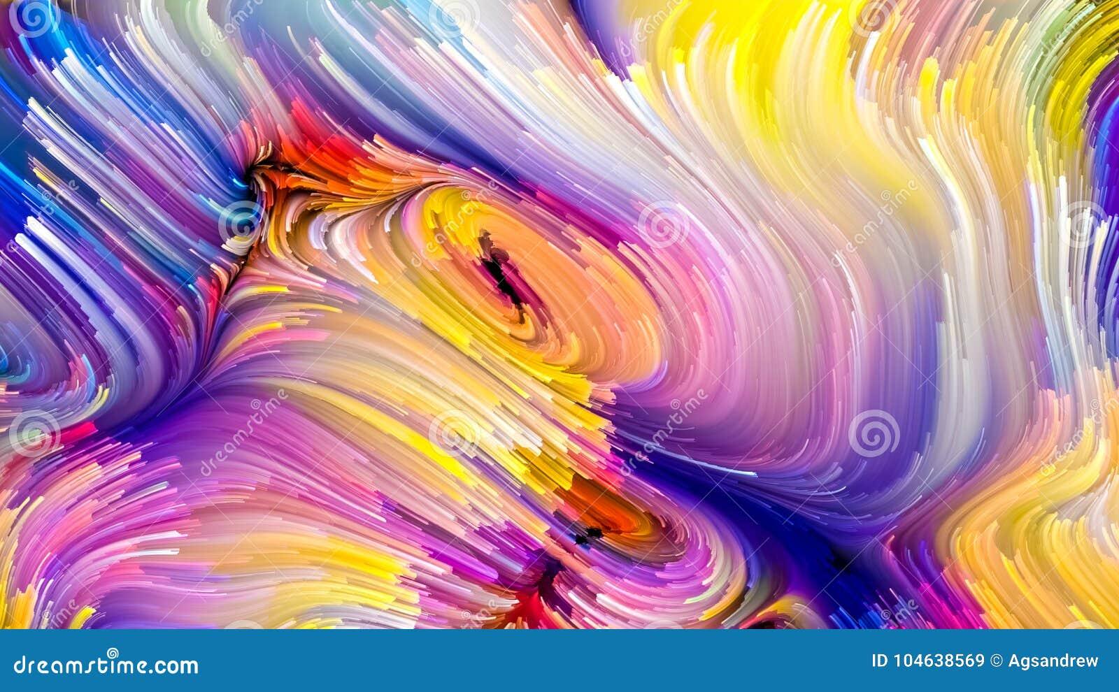 Versnelling van Vloeibare Kleur