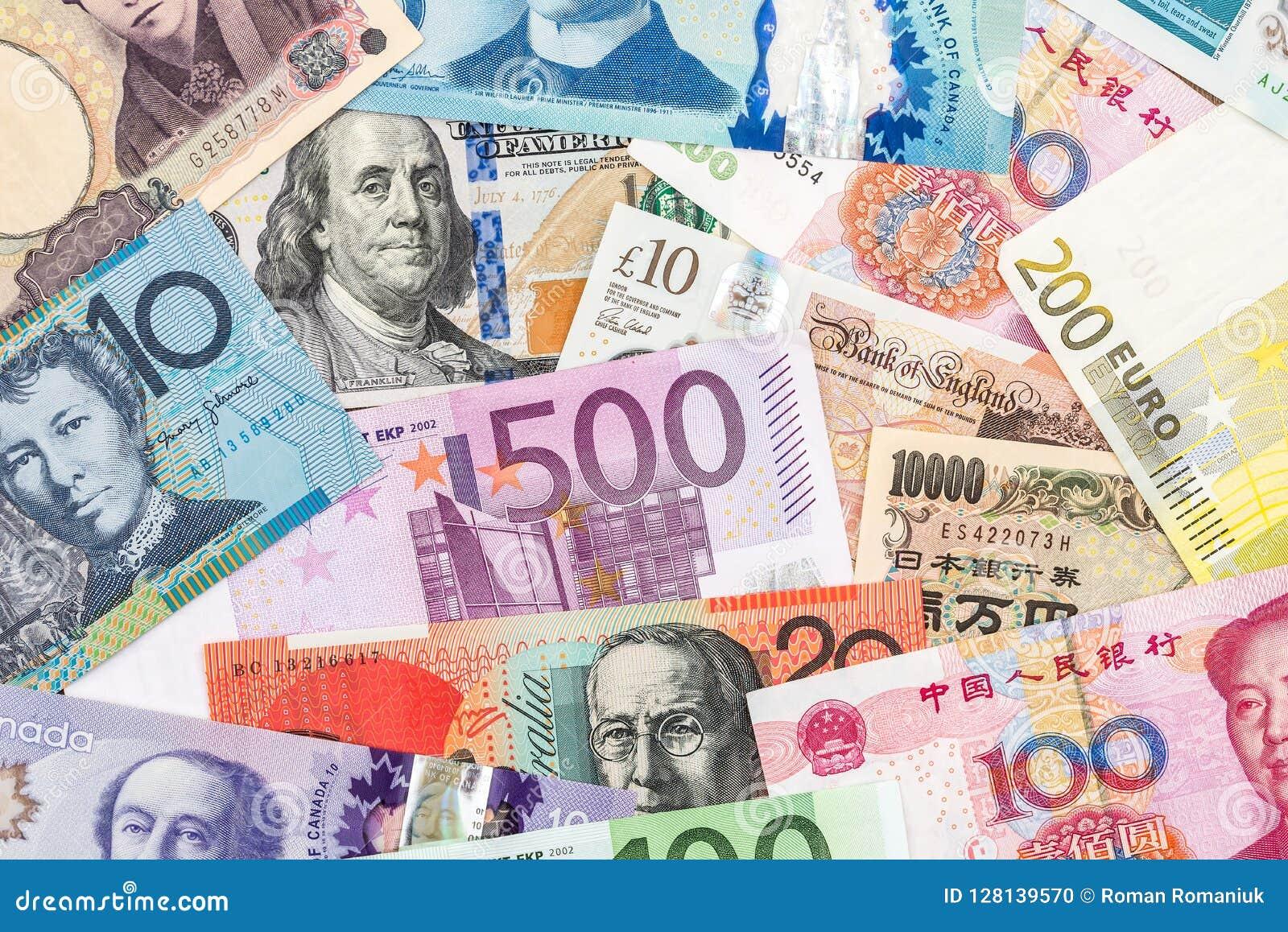 Verspreide inzameling van geld