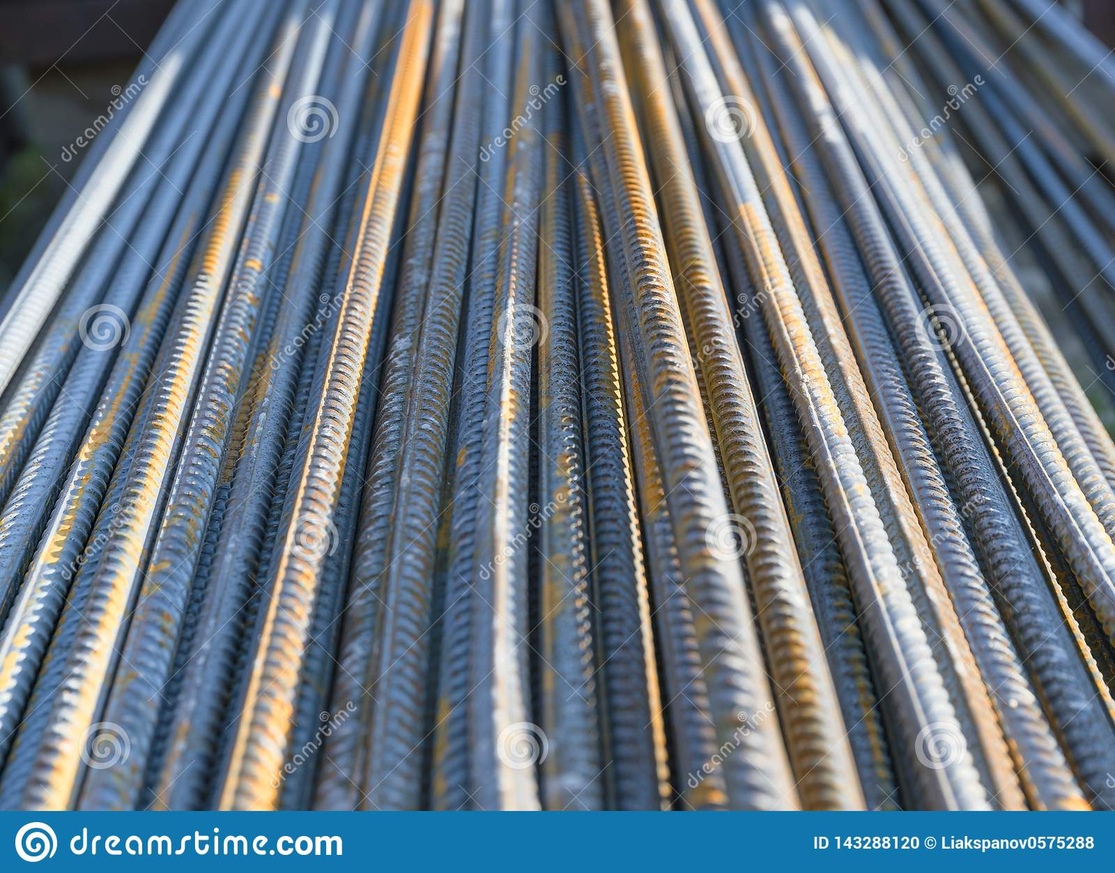 Versterk de staaf van het staalijzer