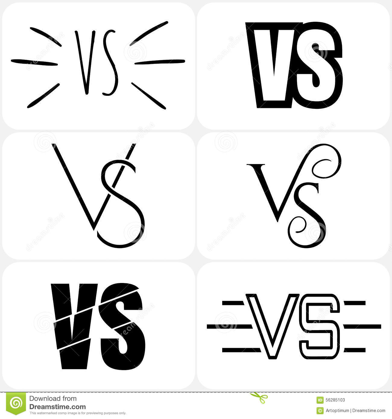 Versus letters logo black v and s symbols stock vector versus letters logo black v and s symbols biocorpaavc