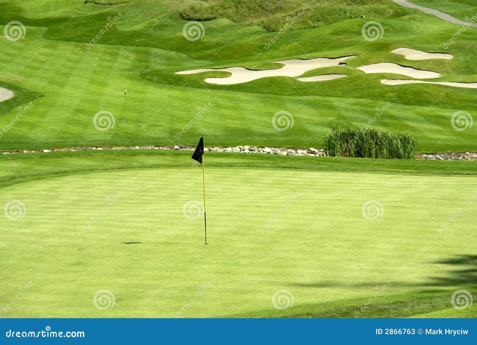 Vert de golf