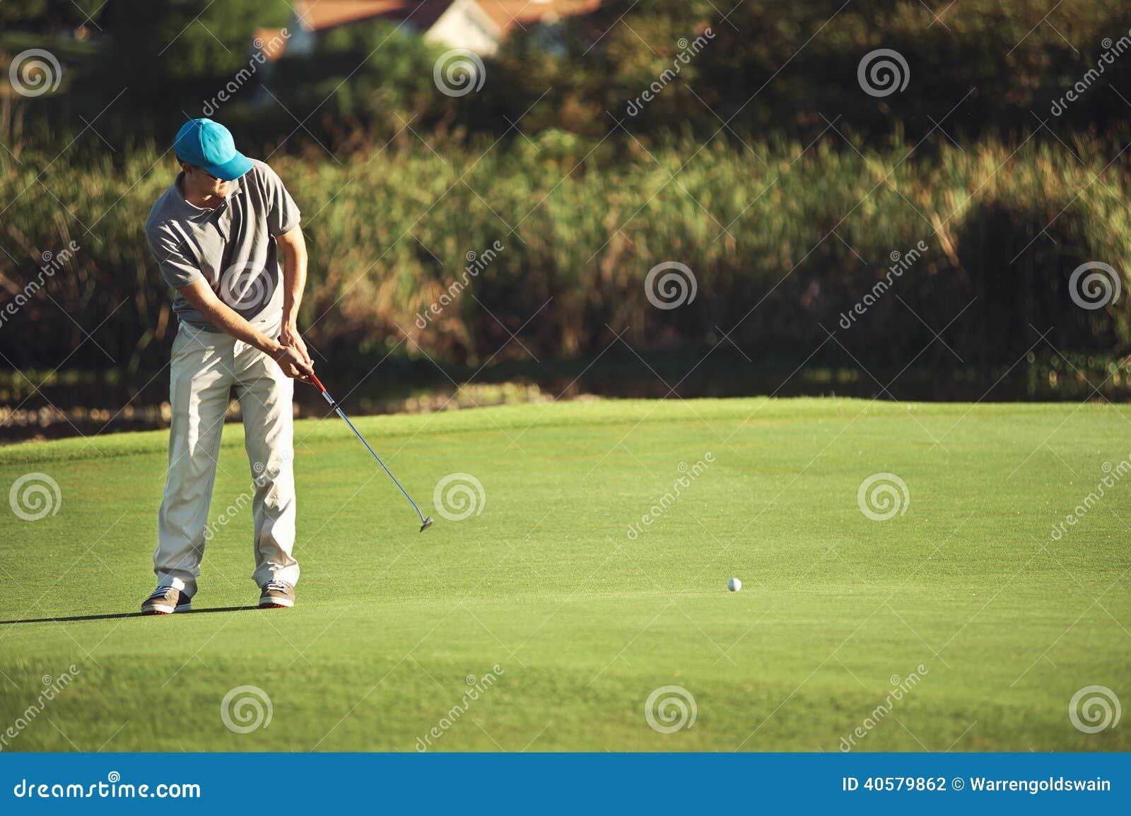 Vert de putt de golf