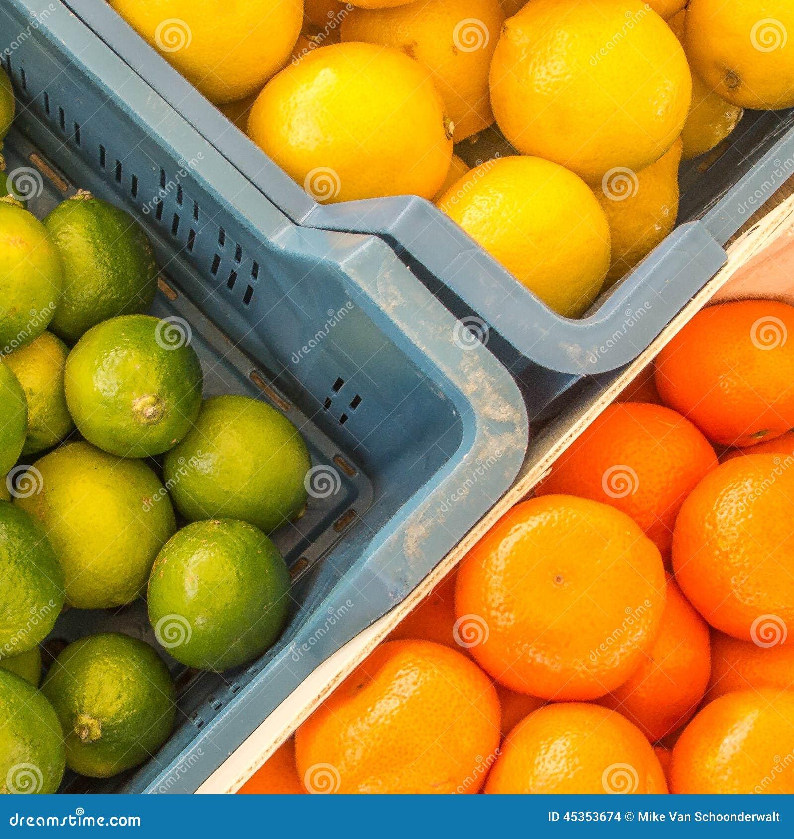 Vert, jaune et orange