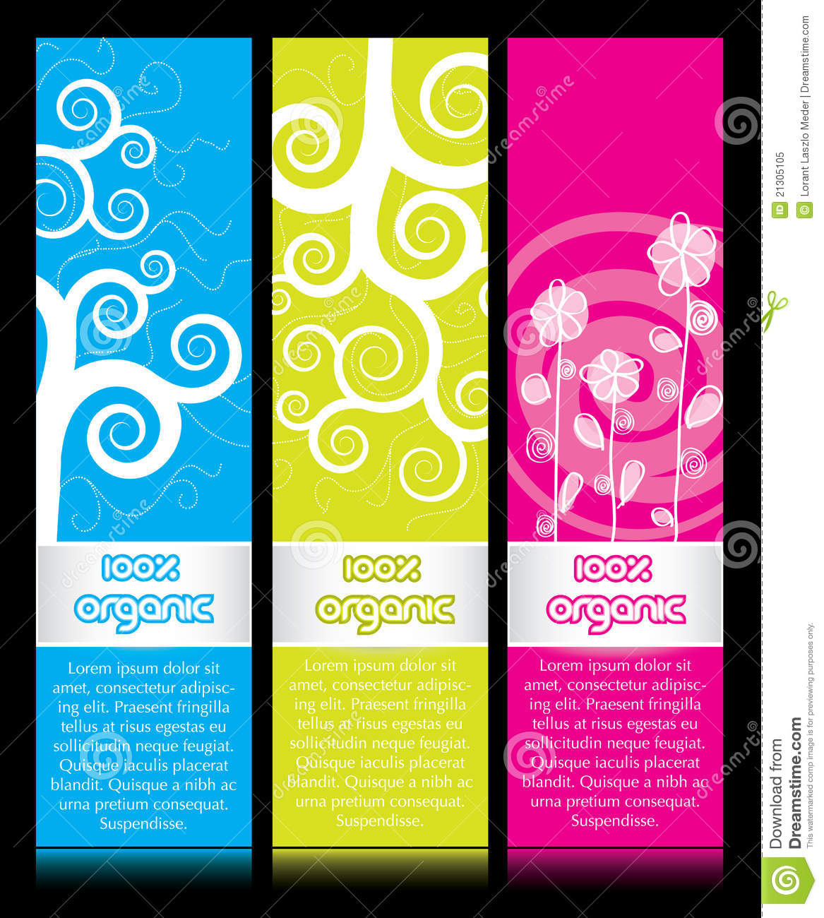 Vertical Banner Ads Royalty Free Stock Photo - Image: 21305105