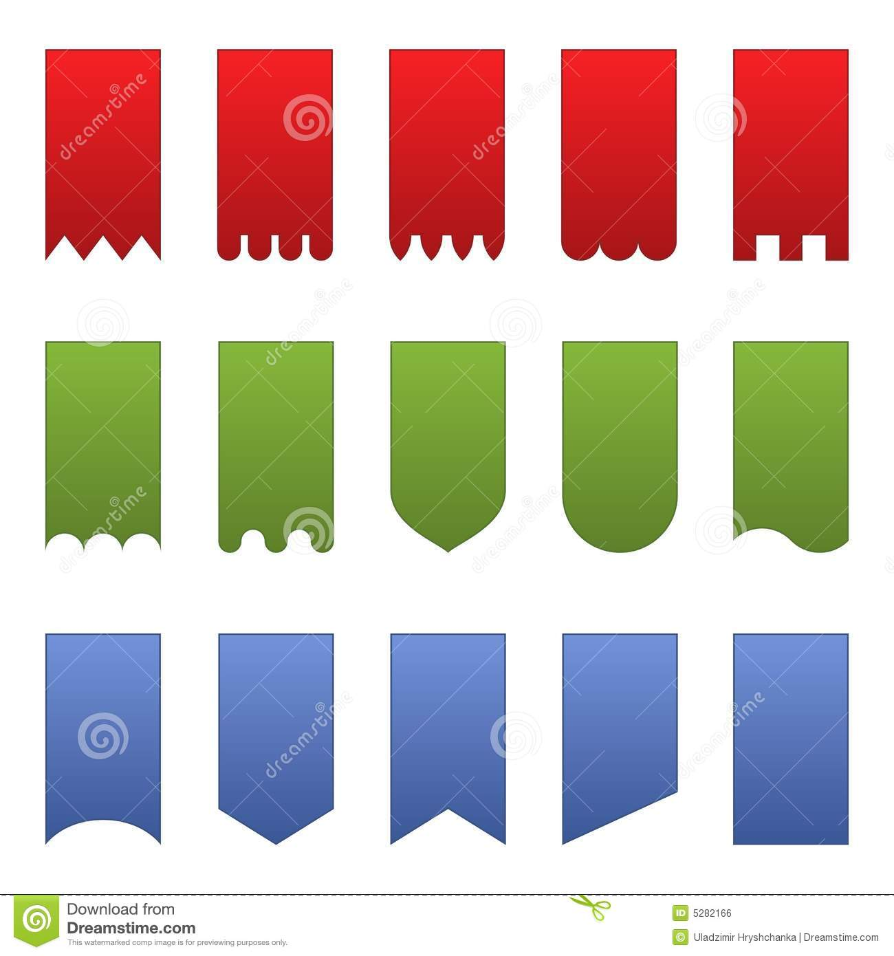 Vertical Banners Royalty Free Stock Image - Image: 5282166